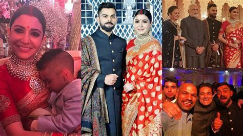 Virat Kohli And Anushka Sharma Wedding Reception In Delhi