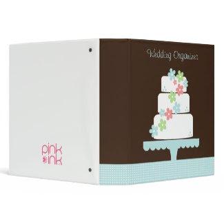 Sweet Cake Wedding Organizer binder