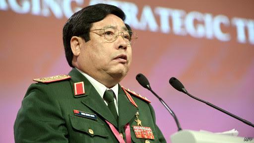 Bộ trưởng Quốc phòng VN Phùng Quang Thanh