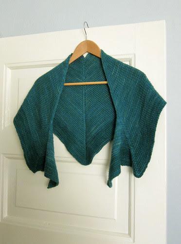 Emerald shawl