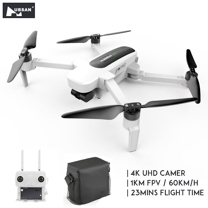 Hubsan H117S Zino GPS 5.8G 1KM FPV With 4K UHD Camera 3Axis Gimbal RC Drone Quadcopter UAV RTF 60kmH HD WiFi Video Transmission