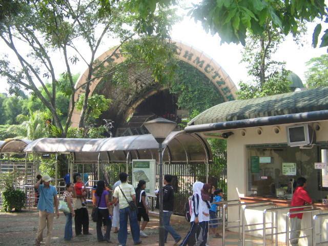 Objek Wisata Kebun Binatang Bandung