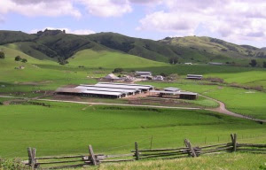 View of the LaFranchi Dairy