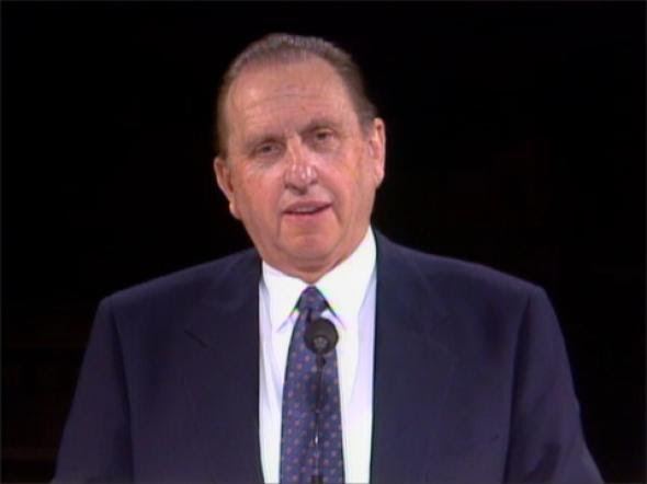 Mercythe Divine Gift Thomas S Monson