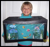 How to Make Coolest Homemade Aquarium and Fish Halloween Costumes