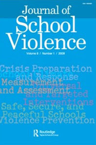 The Journal of School Violence cover.