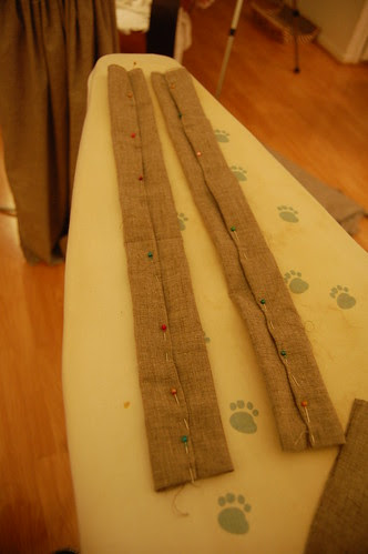 Making a robe a l'anglaise 34