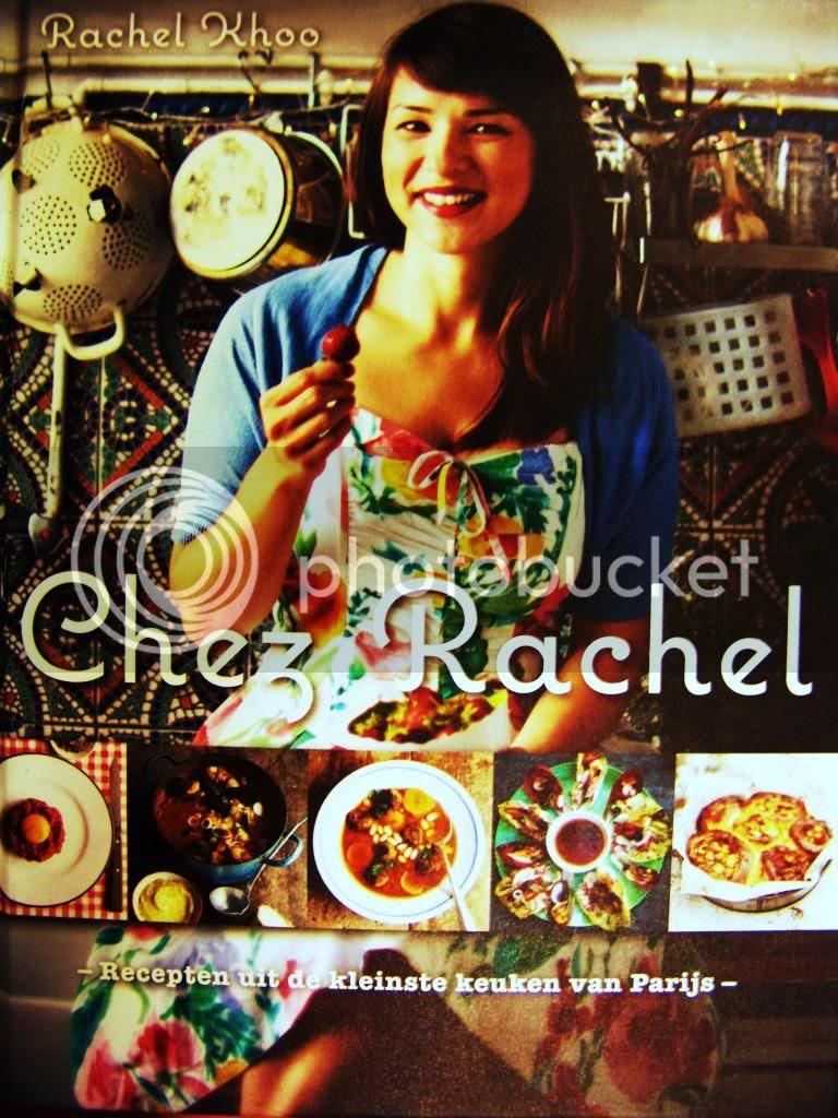 The new Rachel Khoo cookbook cover of Chez Rachel. #Cooking #Food #Cookbook #Haute Cookure #Musthave #Paris #Wishlist
