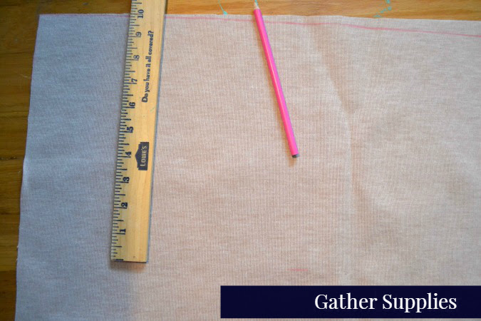 preparing-leather-material-pencil-yardstick-supplies-leather-banner