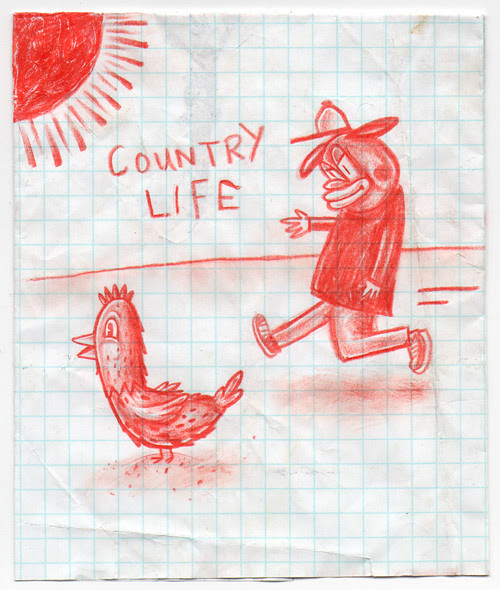 country life drawing