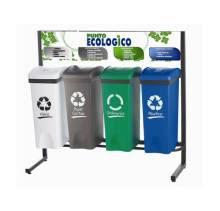 Conozca las canecas de reciclaje por colores