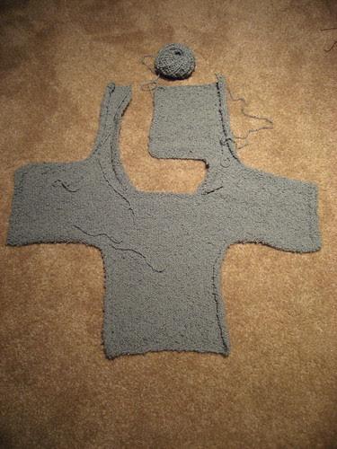 Sweater Unfolded
