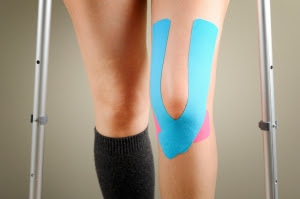 Kinesiotape on Knee