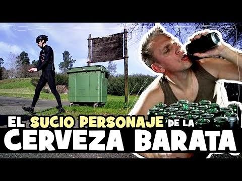 EL SUCIO personaje de la CERVEZA BARATA - Alfonso Blanco