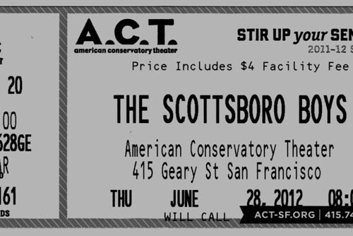 Scottsboro Boys - Ticket