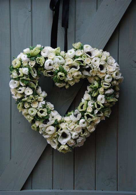 The 25  best Wedding heart wreath ideas on Pinterest