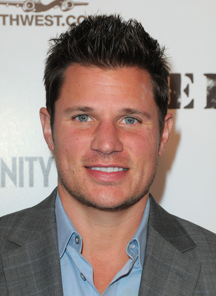Singer Nick Lachey arrives at the FEED  Foundation/Hungry In America project benefit hosted by Vanity Fair held  at Craft Los Angeles on February 28, 2010 in Century City, California.