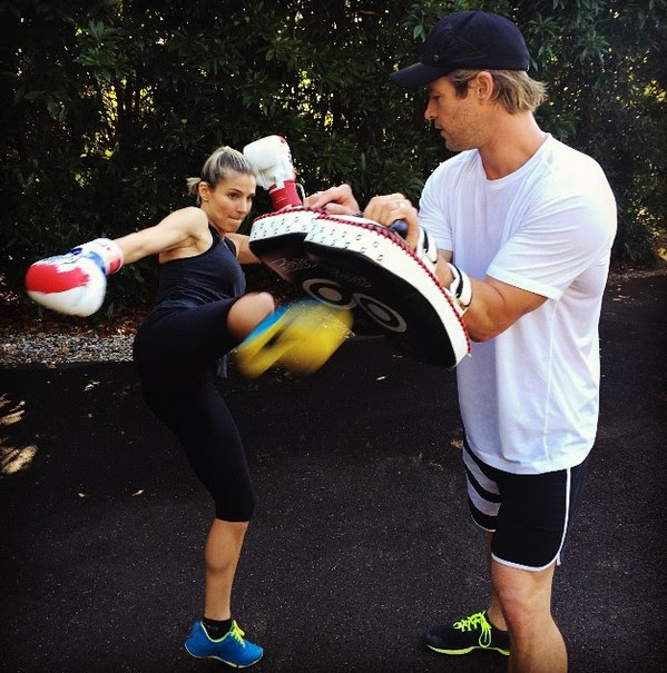 Elsa Pataky e Chris Hemsworth (Foto: Instagram)