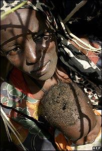 Darfur refugee woman