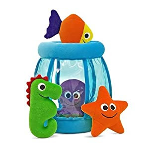 Fishbowl Fill and Spill Plush Toy Set