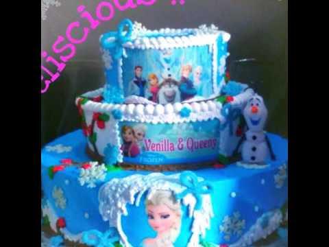 Kue Ulang Tahun Istana Frozen 01 Kue Ultah Pusat