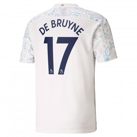 Fotballdrakt Manchester City Kevin De Bruyne 17 ...