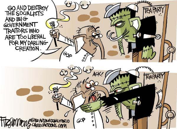Cartoon by David Fitzsimmons