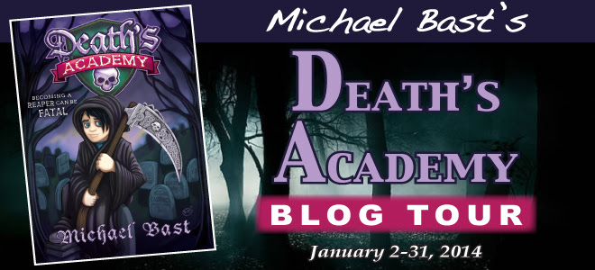 Death's Academy blog tour