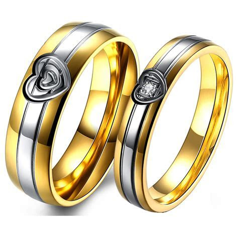 Popular Stainless Steel Promise Rings Buy Cheap Stainless