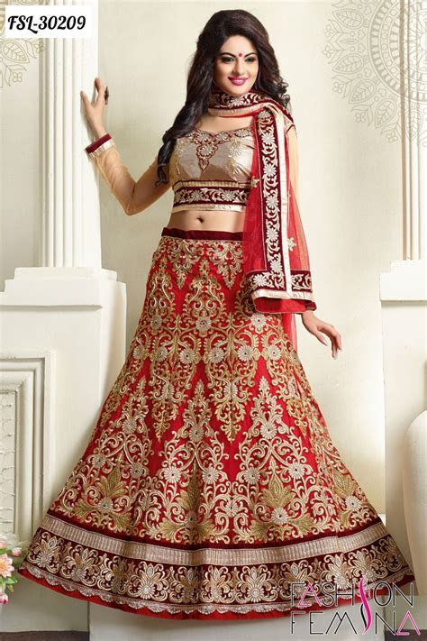 Latest Indian Ethnic Designer Lehenga Style Sarees and