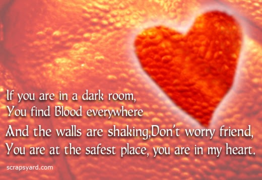 If You Are In A Dark Room You Find Blood Everywhere And The Walls