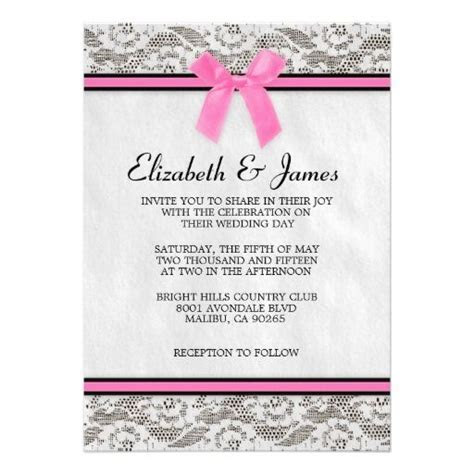 17 Best images about Wedding Invitation Ideas   Pink and