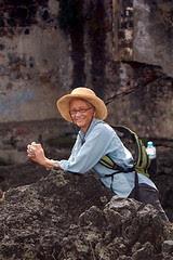 Hiking In Volcanic Lava
