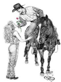 cowgirl plaatjes en animatie gifs animaatjesnl