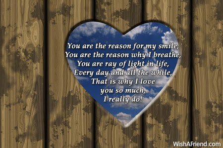 You Are The Reason For My Love Message For Boyfriend