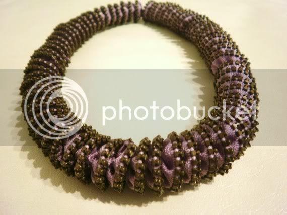 Time Spiral Zipper Necklace