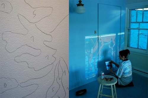 Como Hacer Un Mural Infantil