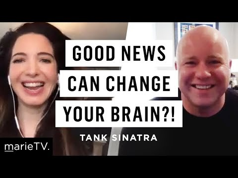 Tank Sinatra: The Curious Effect Of Good News On Your Brain