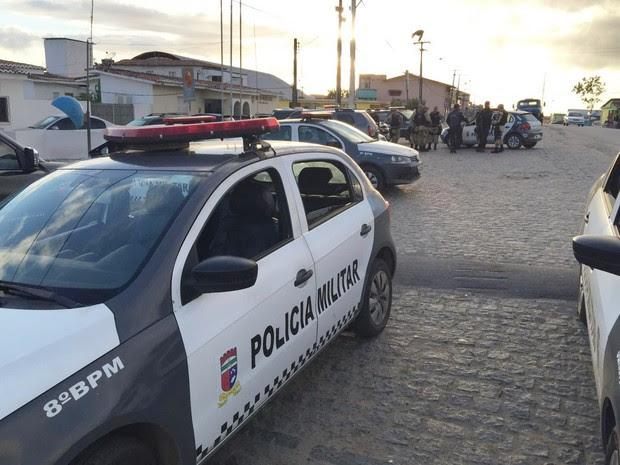 Operação 'Malhas da Lei' foi desencadeada logo nas primeiras horas desta quinta-feira (28) na cidade de Santo Antônio, no Agreste potiguar (Foto: Divulgação/Polícia Civil)