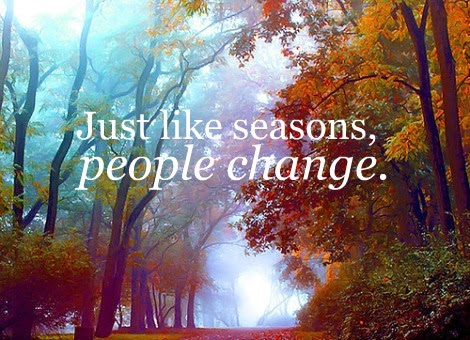 Seasons Change Quotes Custom Depression Images People Change Like