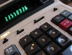 Matt's old calculator