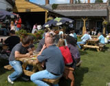 Pub garden: Too tempting on sunny afternoon
