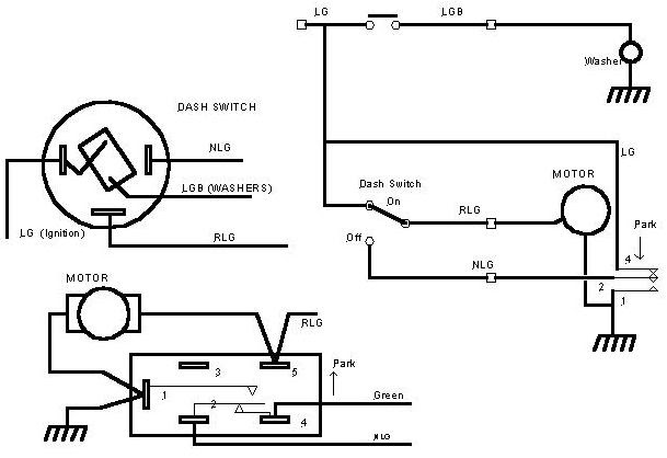 Wiring Diagram Of 1973 Mgb Wiper Switch Wiring Diagrams Collection