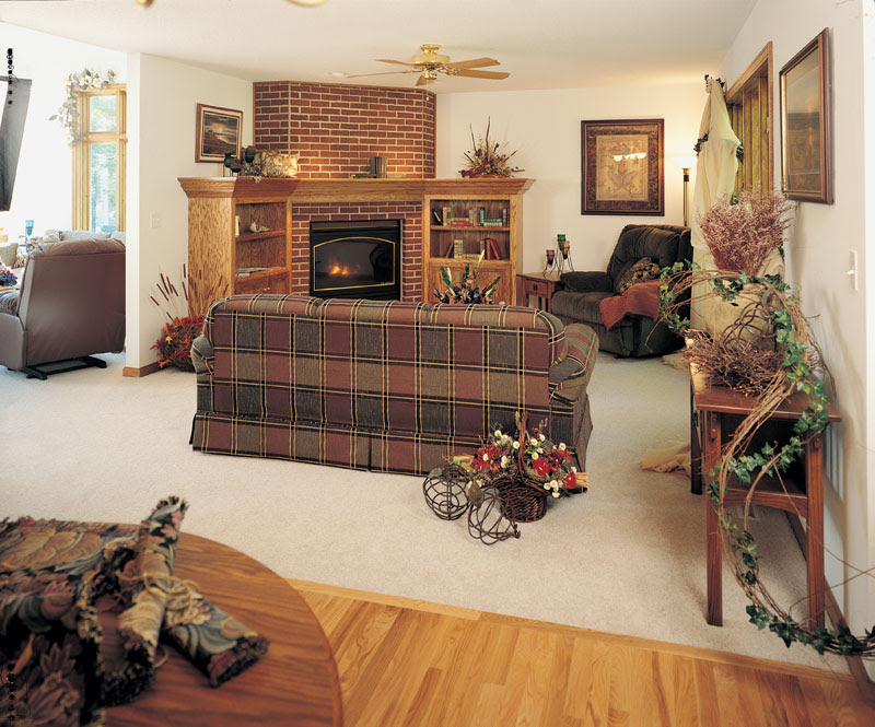 Traditional House Plan Family Room Photo 01 Plan 051D-0238 | House ...