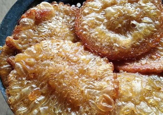 Resep Mudah Cucur Gula Merah Yang Enak