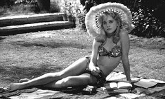 Sunbathing Lolita