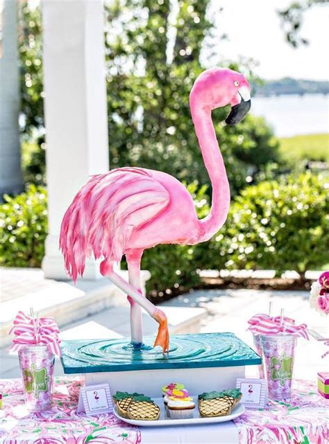 Kara's Party Ideas Lilly Pulitzer Inspired Tropical Bridal