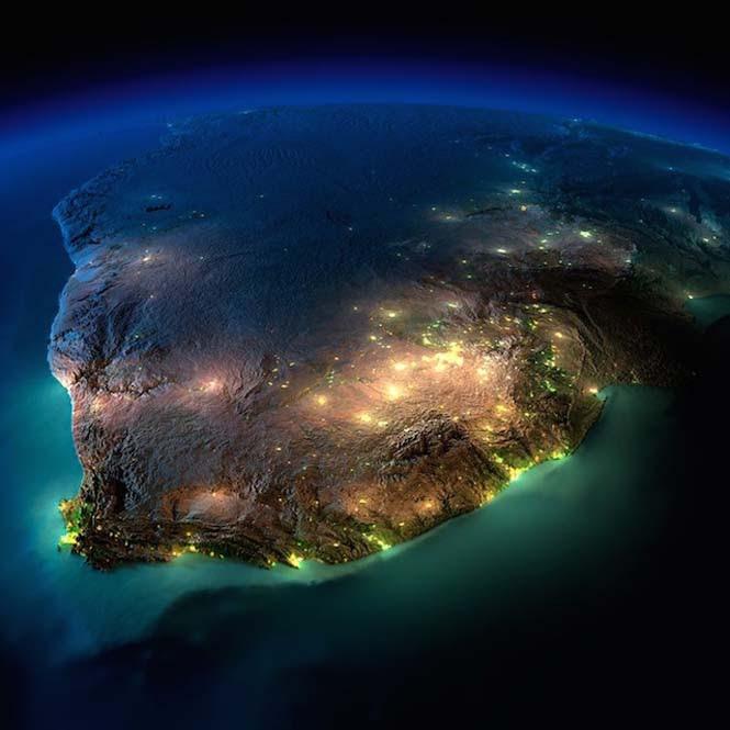 Εκπληκτικές νυχτερινές εικόνες της Γης (14)