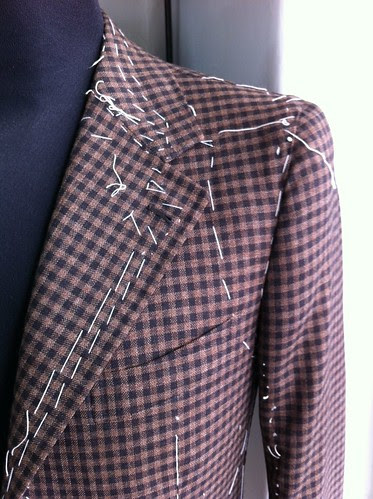 Palmisciano try-on sports jacket