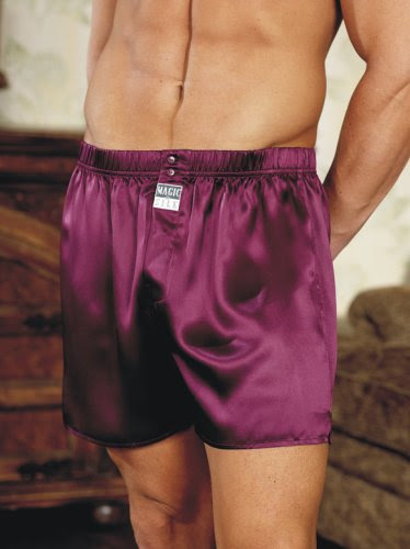 Thumbnail image of Mens Silk Valentines Day Boxers